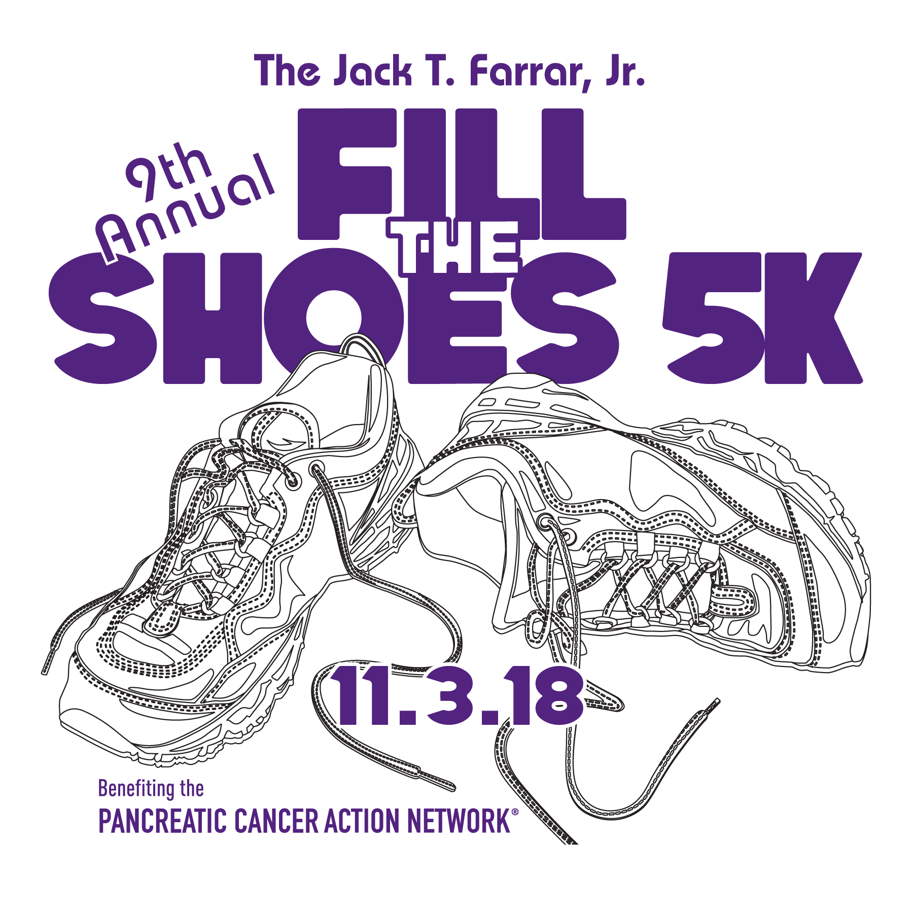 Fill the shoes 5k November3, 2018